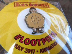 The Bob's Burger Loot Pin