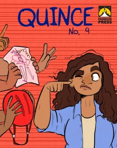 Quince #9 Cover