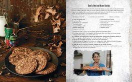 Carol's Beet and Acorn Cookies