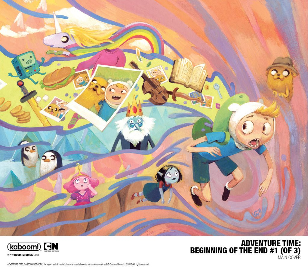 Cartoon Network and Boom! Teaming up for 'Adventure Time