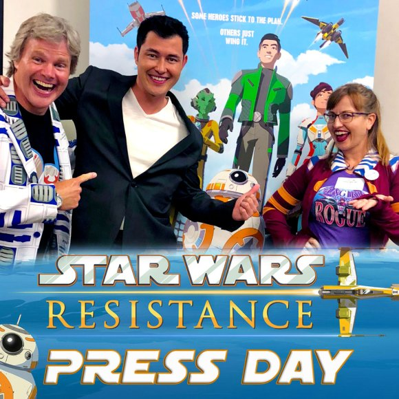 The Voices Behind Star Wars Resistance