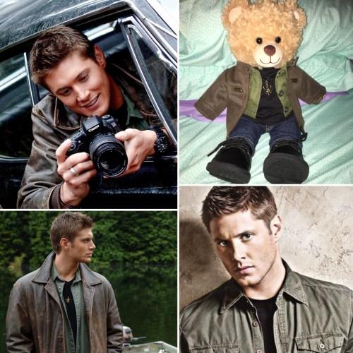 Dean Winchester and Dean Winchestbear