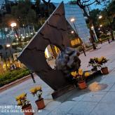 Change and Ape 隱1991 劉有權 青銅 Conceal 1991 LAU Yau-kuen Bronze
