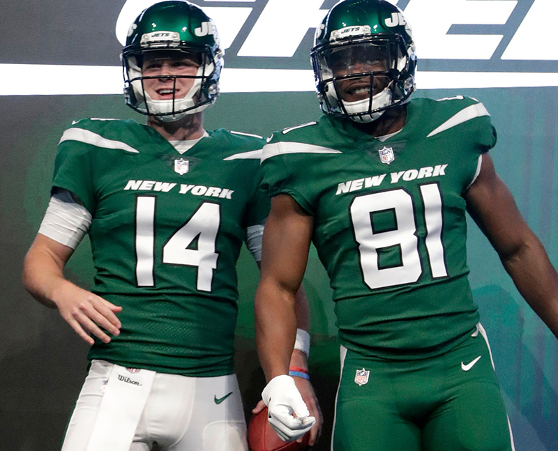 New Jets Uniform