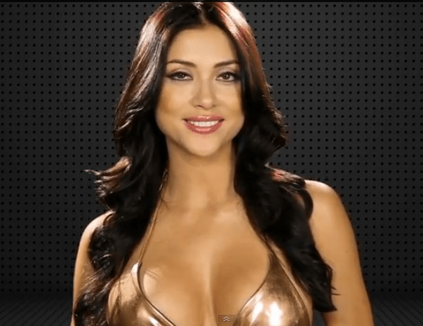 Arianny Celeste Strips for Iron Man Trivia