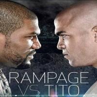 Rampage vs Tito Nov 2nd, in Bellators first PPV