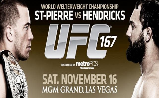 UFC 167: GSP vs Hendricks