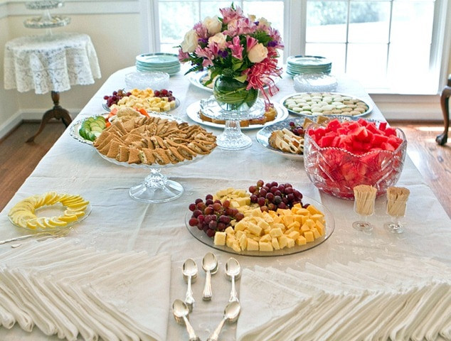 My Bridal Shower! - FANNEtastic Food