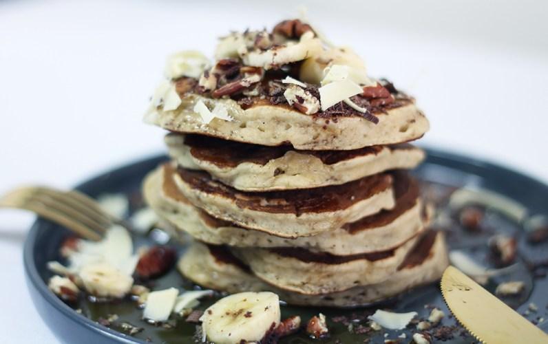Que faire des bananes trop mûres ? Des pancakes ! Par fannyalbx.com