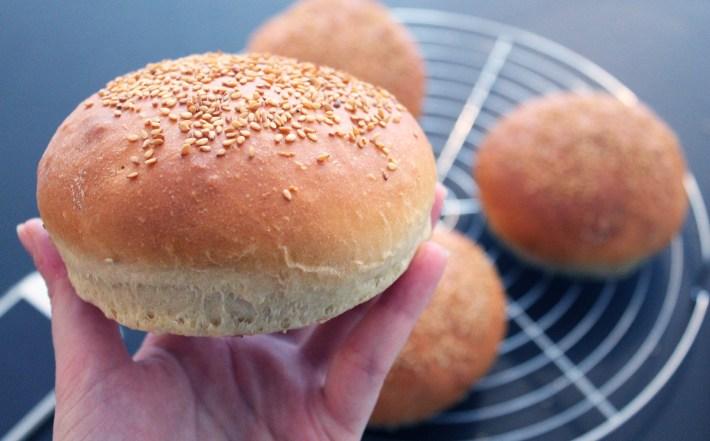 Pains Burger ultra moelleux - fannyalbx.com