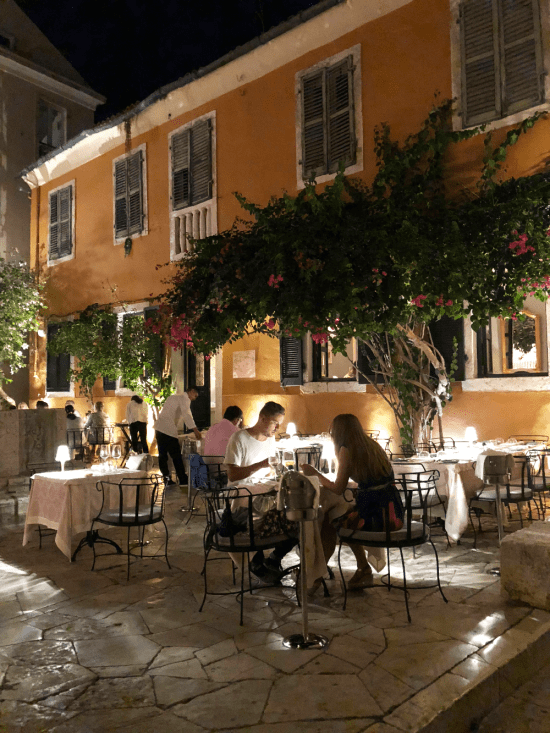 The Venetian Well - restaurant in Corfu