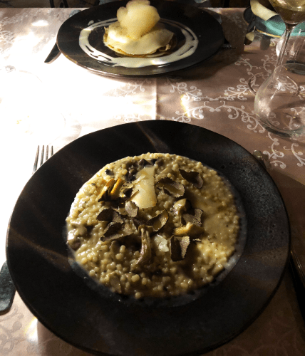 The Venetian Well - pâtes sardes façon risotto