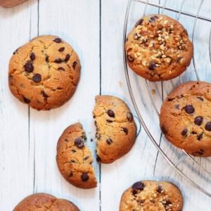 Cookies aux pépites de chocolat - recette sur fannyalbx.com