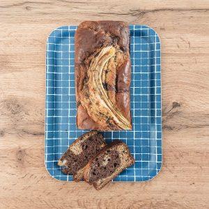Recette healthy banana bread marbré - fannyalbx.com