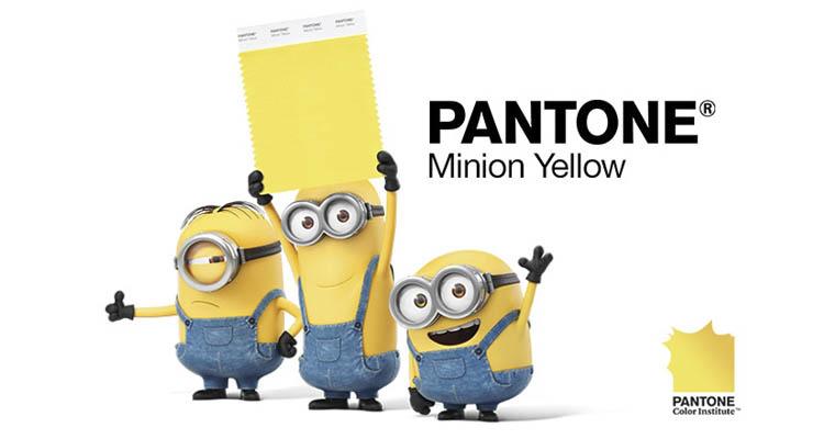 """La nouvelle Couleur de chez Pantone : le """"Jaune Minion"""""""
