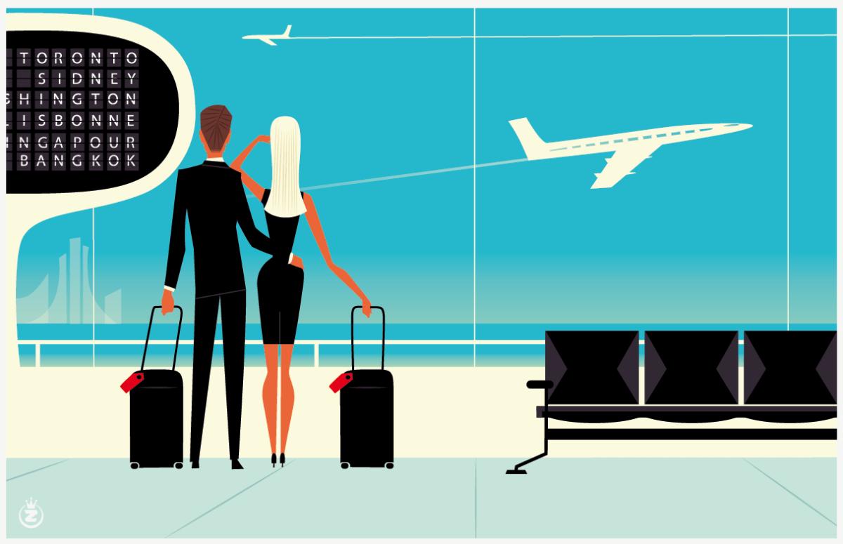 Départ imminent pour la Côte d'Azur avec les illustrations de Monsieur Z