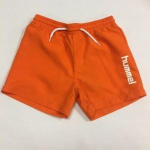 Orange shorts til drenge fra hummel