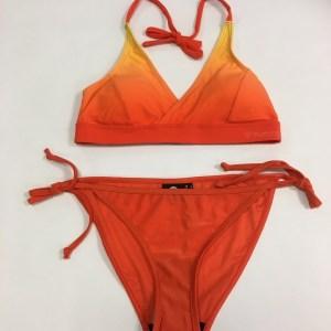 Lys og mørk orange bikini til kvinder fra hummel