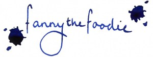 fanny the foodie signature