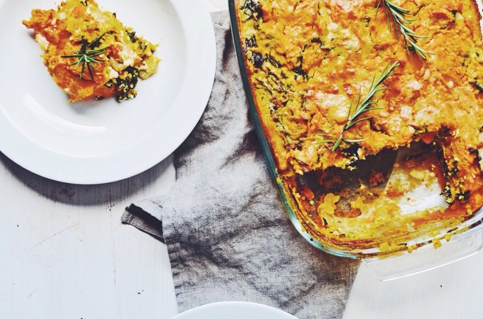 Following my parent's footsteps  – Pumpkin kale lasagne