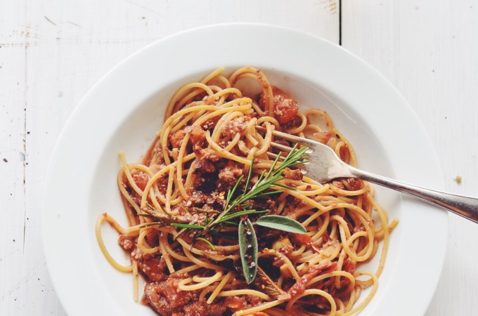 Back to basics #2 – Veggie bolognese