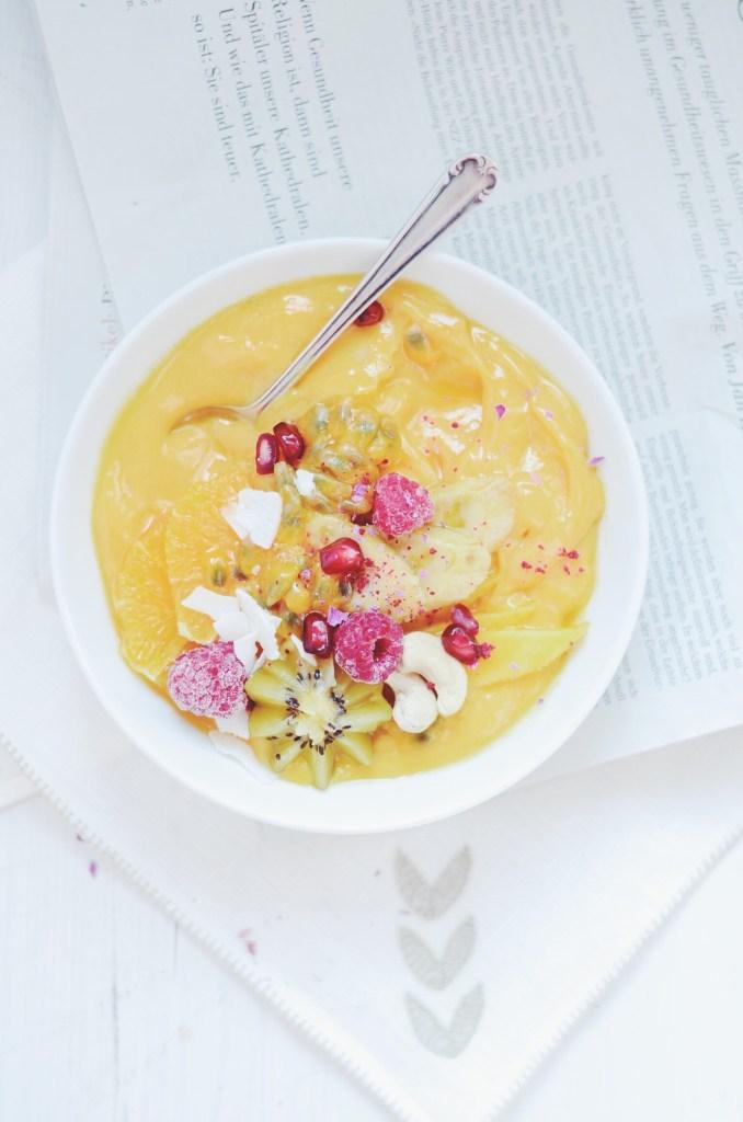 mango nice cream - fannythefoodie