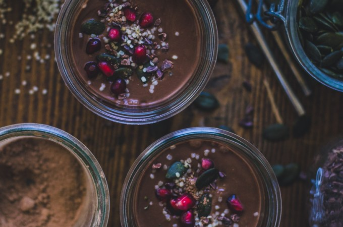 Winter Smoothie / Chocolate and Chestnuts
