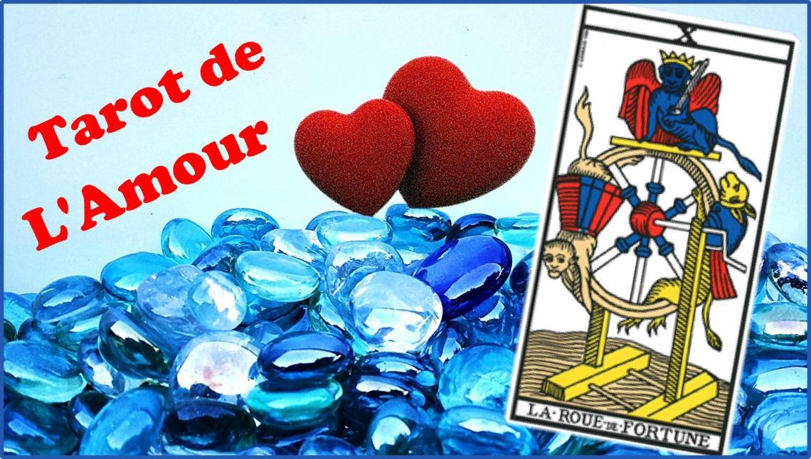 Tarot de l'amour la roue de fortune