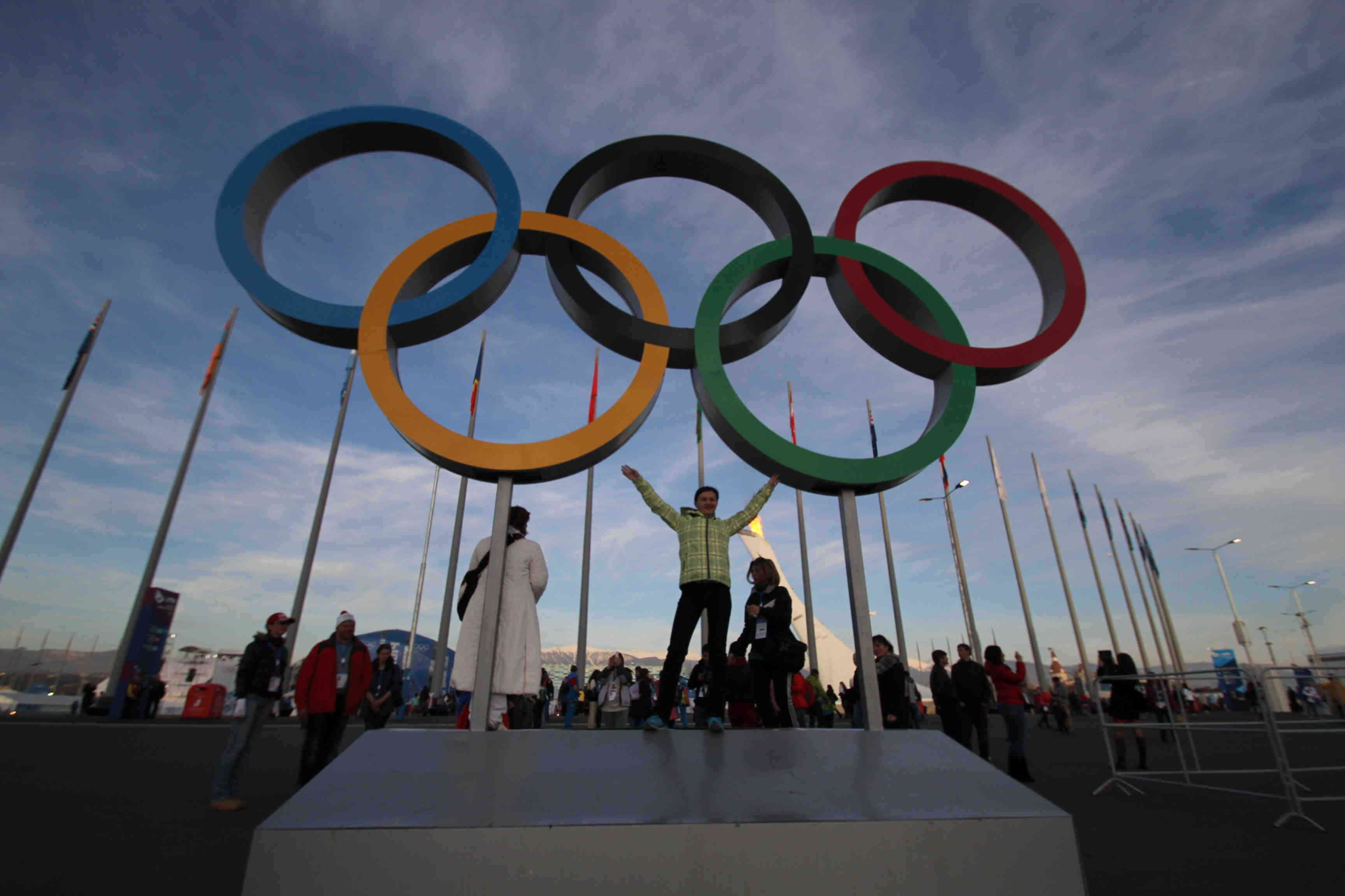 olympic rings sochi