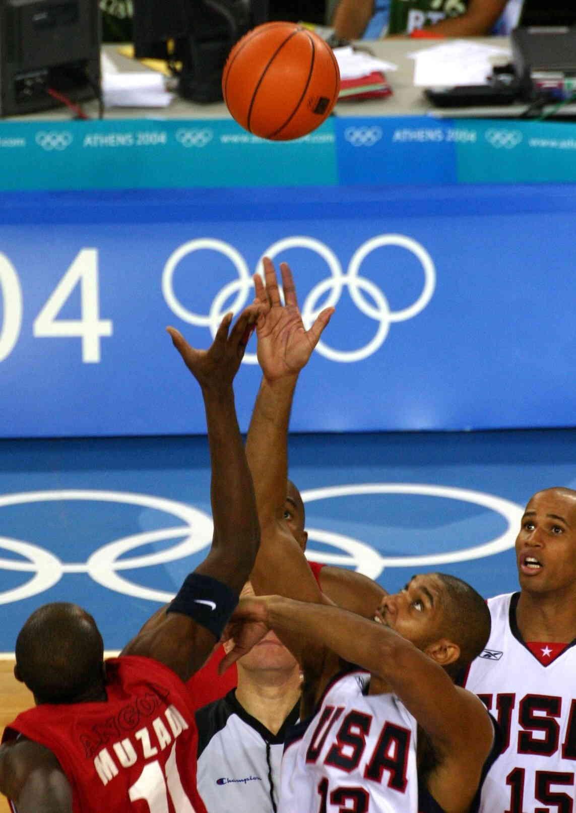athens 2004 basketball