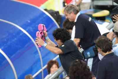 hockey argentina luciana Aymar Maradona Beijing 2008