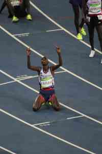 mo farah rio 2016 victory 1000 m athletics