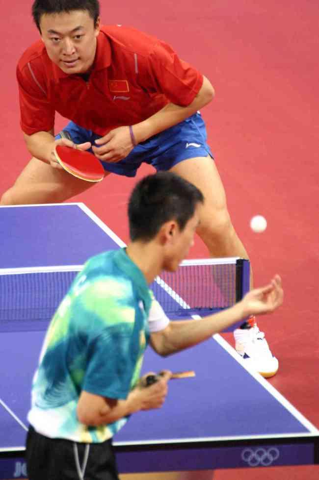 Ma Lin Beijing 2008 Table Tennis final