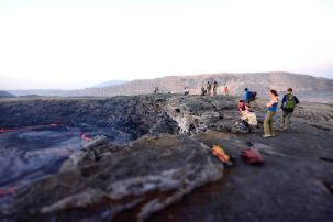 aethiopien active volcan Erta ale fanos ethiopia tours