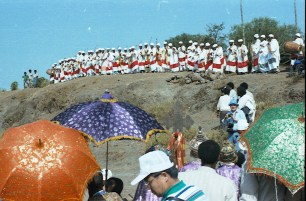 Mass at lalibela churche