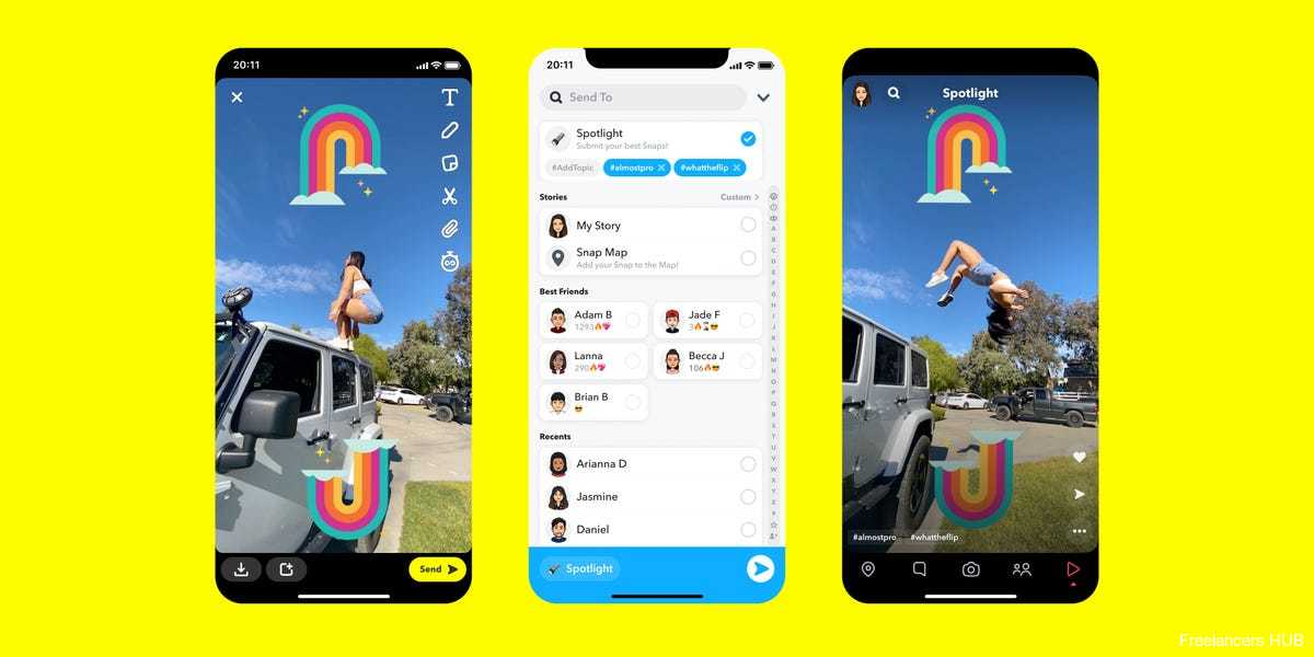 """Snapchat's TikTok competitor """"Spotlight"""" is another step it's taking to compete with social media heavyweight"""