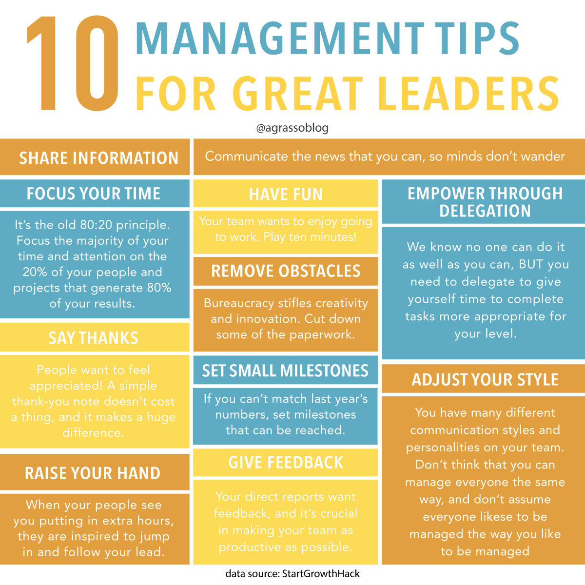 Leadership Business Infographic