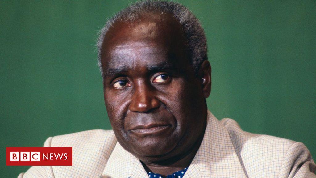 country kennethkaunda kaunda firstpresident independence image president zambia confirmed family families age