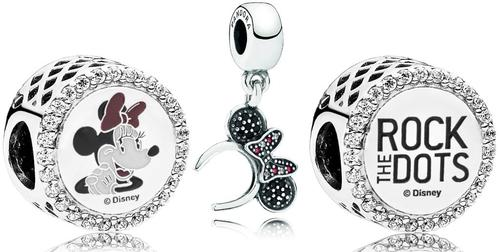 PANDORA_NA MinnieMouse RockTheDots Gift Gifts Love Kids Mom Mother Dad Father Birthday Christmas Jewelry