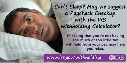 PaycheckCheckup IRS