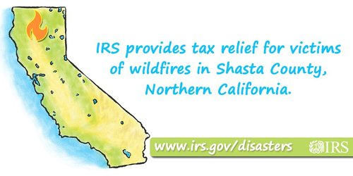 wildfires IRS