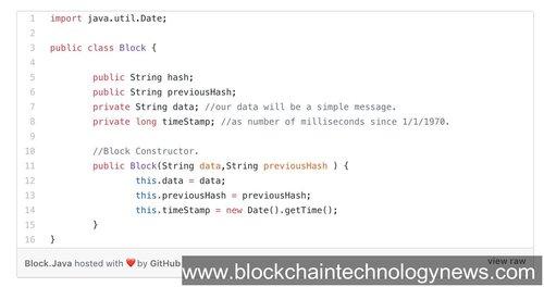 Java blockchain