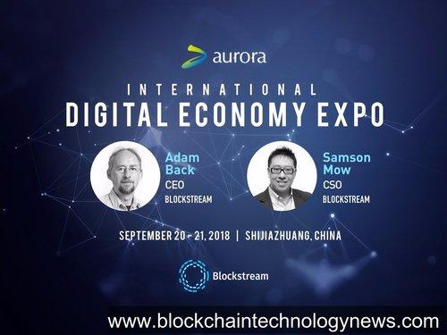 Blockstream adam3us excellion China blockchain technology Crypto Bitcoin