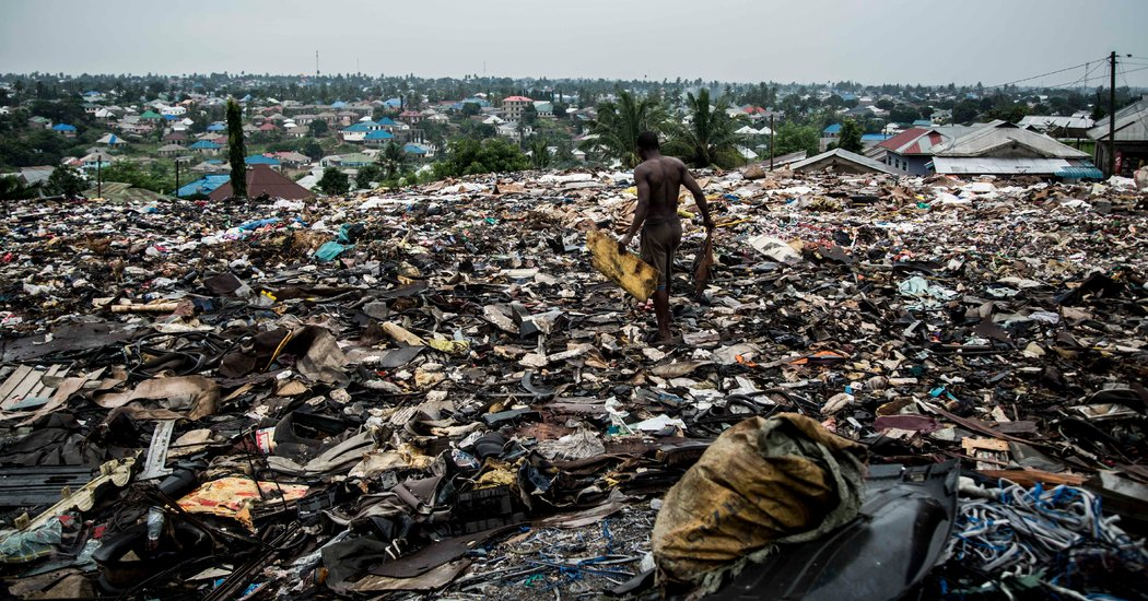 Electronic Marvels Turn Into Dangerous Trash In East