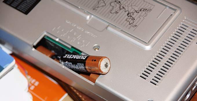 Battery How Shortwave Preps
