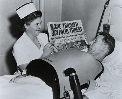 history nurse poliovaccine 1955