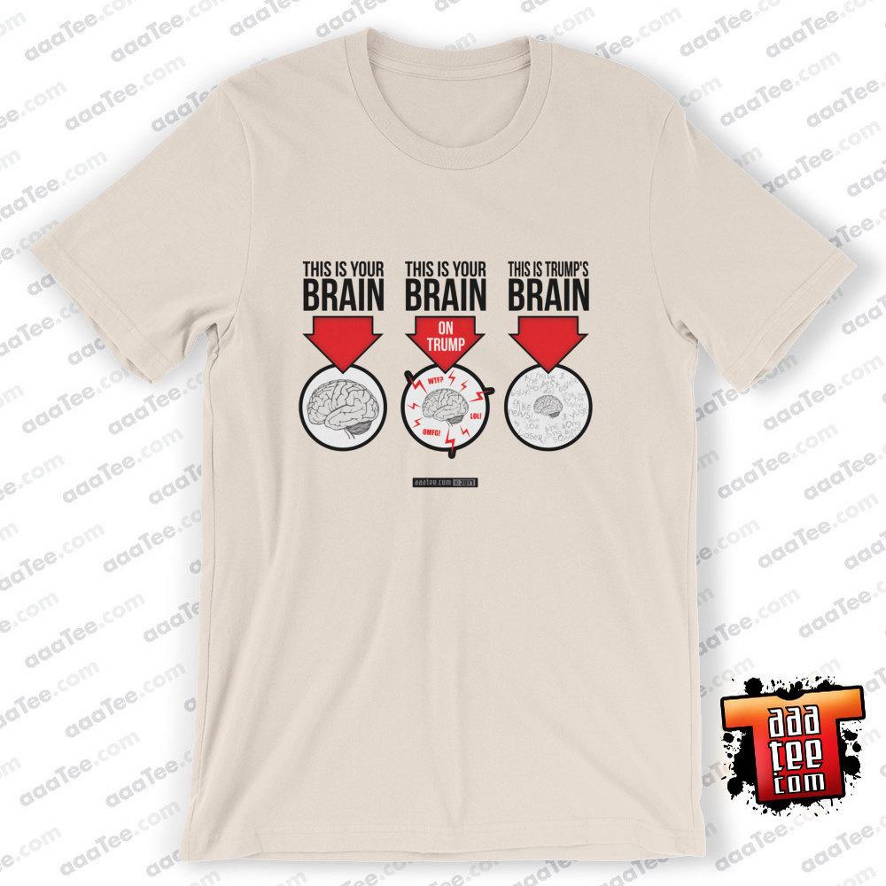 trump tshirt brain potus new