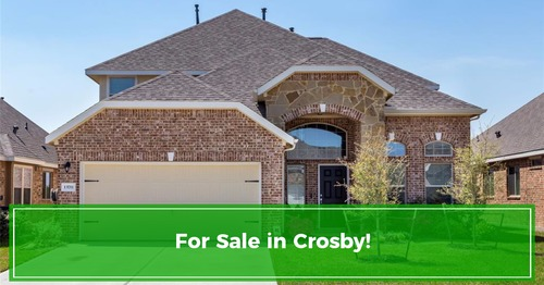 PRICE REDUCED in Crosby, Tx!