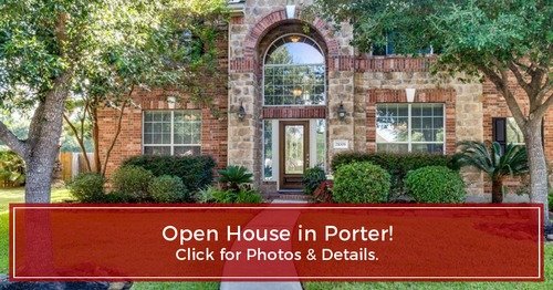 OPEN HOUSE TODAY! 21008 Ramrock Ct, Porter, TX