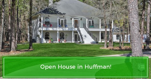 SUNDAY OPEN HOUSE! 29510 Lake Commons Way, Huffman, TX (weather permitting)